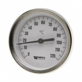 Termometras apvalus 120*C T63/50 WATTS