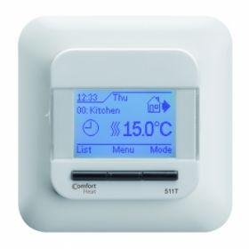 Termostatas Comfort Heat, C511T rėmeliui apvaliais kraštais