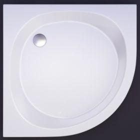 Akmens masės dušo padėklas Vispool, RS-90 (R550)