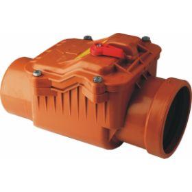 Atbulinis kanalizacijos vožtuvas CAPRICORN, d 110