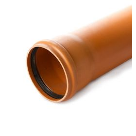 Lauko kanalizacijos vamzdis Wavin N klasė, d, 200-4.9-6000 mm