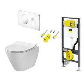 Jaukurai Viega Prevista WC rėmas