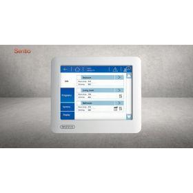 Šildomų grindų automatika Wavin Sentio, LCD jutiklinis ekranas LCD-200