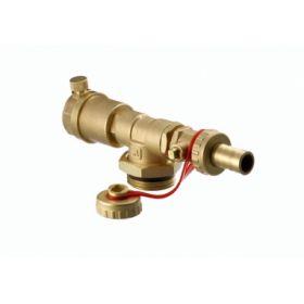 Kolektoriaus galinė sekcija FHF-EA su automatiniu nuorintoju ir drenažu