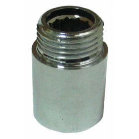 Žalvarinis chromuotas pailginimas VIEGA, d 1/2', , 65 mm