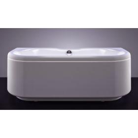 Akmens masės vonia Vispool Londra, 170x75 balta