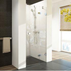 Berėmės dušo durys Ravak Brilliant, BSD2-90 A-R chromas+stiklas Transparent (890-905)