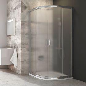 Pusapvalė dušo kabina Ravak Blix, BLCP4-80, blizgi+stiklas Grape