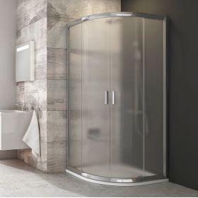 Pusapvalė dušo kabina Ravak Blix, BLCP4-90, blizgi+stiklas Grape