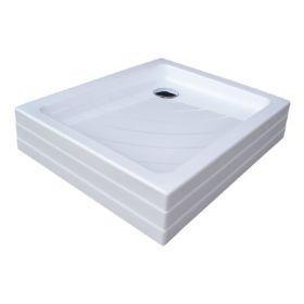 Akrilinis dušo padėklas Ravak Aneta, 75x90 PU baltas