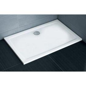 Lietas dušo padėklas Ravak Gigant Pro Flat, 100x80 baltas