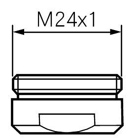 Aeratorius MORA, M24x1, 9 l/min
