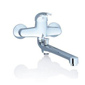 Sieninis maišytuvas Ravak Rosa, voniai/dušui su ilgu čiaupu RS 051.00/150