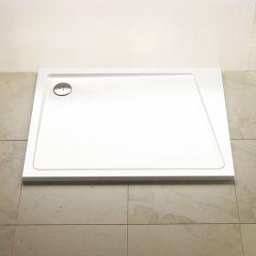 Lietas dušo padėklas Ravak Gigant Pro 10°, 100x80 R balta