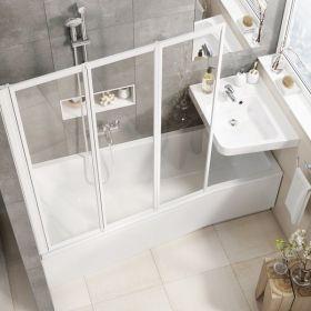 Akrilinė vonia Ravak BeHappy II, 160x75, kairinė