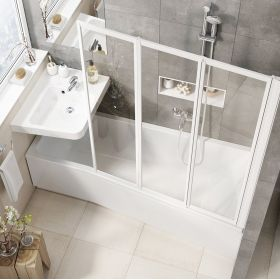 Akrilinė vonia Ravak BeHappy II, 160x75, dešininė