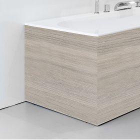 Apdailos plokštė voniai Ravak City/City Slim, šoninė, 80 L  satino mediena