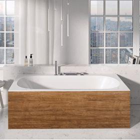 Apdailos plokštė voniai Ravak City/City Slim, priekinė, 180 ąžuolas