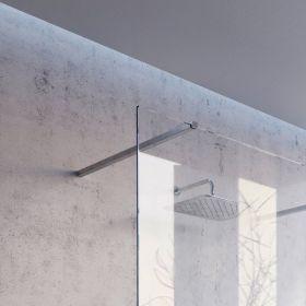 Montavimo rinkinys dušo kabinoms ir sienelėms Ravak Brilliant ir Walk-In, W SET, 80 Wall/Corner Aliuminis
