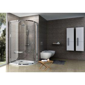 Pusapvalė dušo kabina Ravak Pivot, PSKK3-100, blizgi+stiklas Transparent
