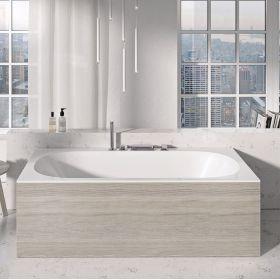 Apdailos plokštė voniai Ravak City/City Slim, priekinė, 180 satino mediena