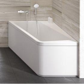 Apdailos plokštė voniai Ravak 10°, 170x100, kairinė