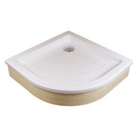 Akrilinis dušo padėklas Ravak Ronda, 80 EX baltas