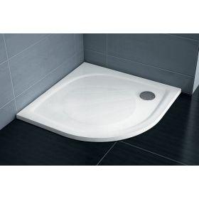 Lietas dušo padėklas Ravak Elipso Pro, 100 baltas