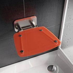 Dušo sėdynė Ravak, Ovo B II, oranžinė