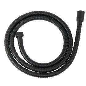 Dušo žarna Ferro, W33, juoda, metalinė
