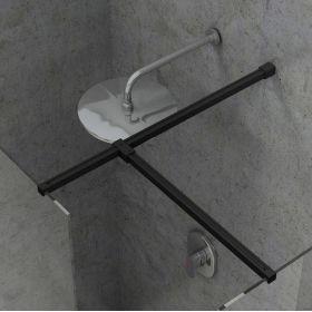 Montavimo rinkinys dušo kabinoms ir sienelėms Ravak Brilliant ir Walk-In, W SET, Uni Free/Wall juoda