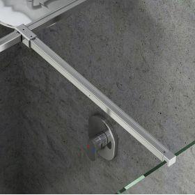 Montavimo rinkinys dušo kabinoms ir sienelėms Ravak Brilliant ir Walk-In, W SET, Uni T spoj (bright alu)