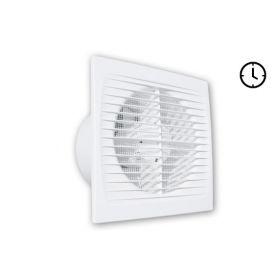 Ištraukiamasis vonios kambario ventiliatorius Tecnosystemi, Open-T su laikmačiu