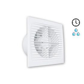 Ištraukiamasis vonios kambario ventiliatorius Tecnosystemi, Open-TH su laikmačiu ir drėgmės jutikliu
