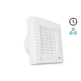 Ištraukiamasis vonios kambario ventiliatorius Tecnosystemi, High-TH su laikmačiu ir drėgmės jutikliu