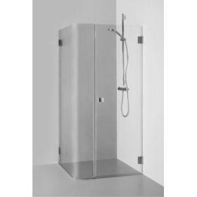Berėmė kvadratinė kabina Baltijos Brasta, Regina 90x90x190 skaidrus stiklas