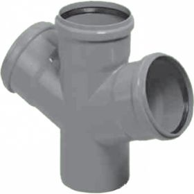 Vidaus kanalizacijos keturšakis HTDA, d , 110