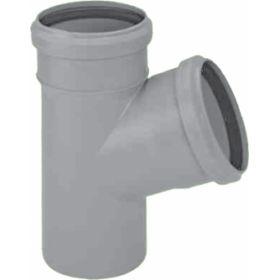 Vidaus kanalizacijos trišakis HTEA, , d 50, 45*
