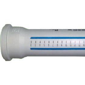 Vidaus kanalizacijos vamzdis HTEM su mova,, baltas, d 32, 1000 mm