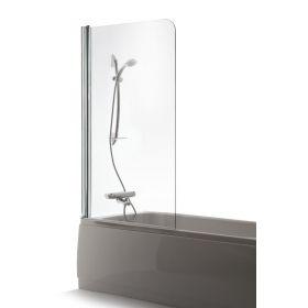 Berėmė sienelė voniai Brasta Glass, Maja 80x150, skaidrus stiklas