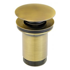 Praustuvo sifono vožtuvas Ferro, sendinta bronza Rotondo S285BR