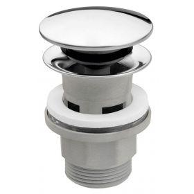 Praustuvo sifono vožtuvas Ferro, chromuotas Rotondo S287PP-B