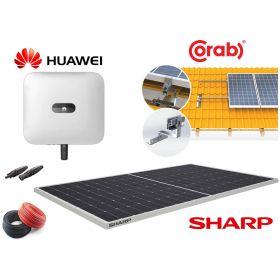 Jaukurai 5 kW saulės elektrinė