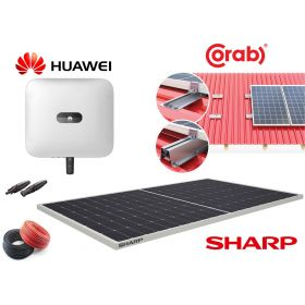 Jaukurai 10 kW saulės elektrinė