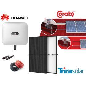 Jaukurai 5 kW saulės elektrinės
