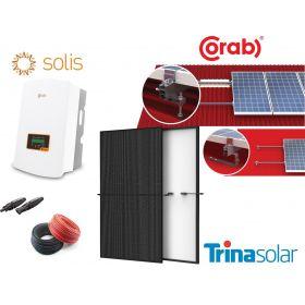 Jaukurai 8 kW saulės elektrinė