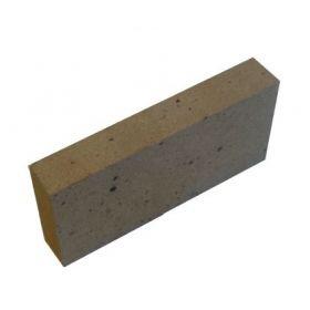 Kieto kuro katilo Vigas šamoto plyta, P4 šoninė stačiakampė 125x40x250 mm