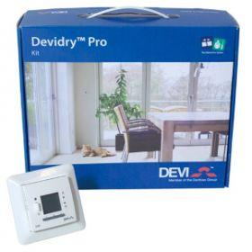 Termostatas DEVI Devidry Pro Kit, 55 potinkinis