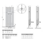 Radiatorius PURMO Faro V 21 , 2100-450