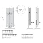 Radiatorius PURMO Kos V 22 , 1800-600